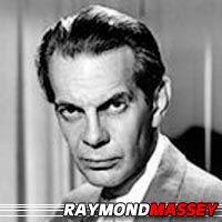 Raymond Massey  Acteur