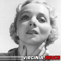 Virginia Bruce  Actrice