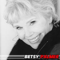 Betsy Palmer  Actrice