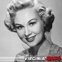 Virginia Mayo  Actrice