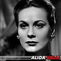 Alida Valli  Actrice