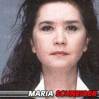 Maria Schneider  Actrice