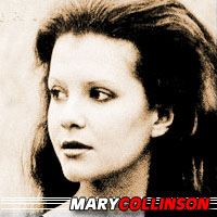 Mary Collinson  Actrice