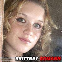 Brittney Bomann  Actrice