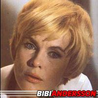 Bibi Andersson  Actrice