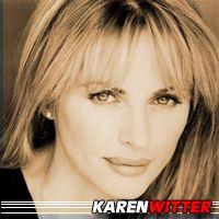 Karen Witter  Actrice