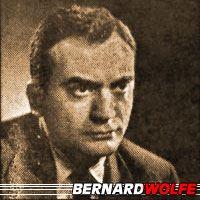 Bernard Wolfe  Auteur