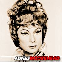 Agnes Moorehead  Actrice