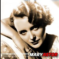 Mary Astor  Actrice