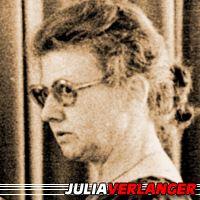 Julia Verlanger  Auteure