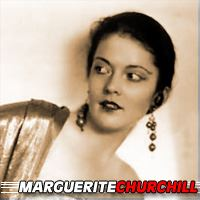 Marguerite Churchill  Actrice