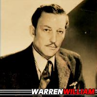 Warren William  Acteur