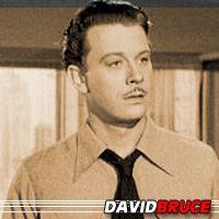 David Bruce  Acteur