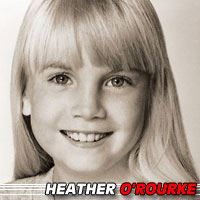 Heather O'Rourke  Actrice