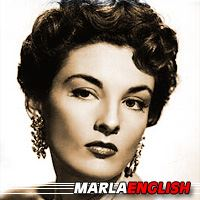 Marla English  Acteur