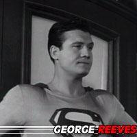 George Reeves  Acteur