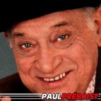 Paul Préboist  Acteur