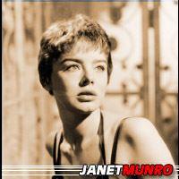 Janet Munro  Actrice