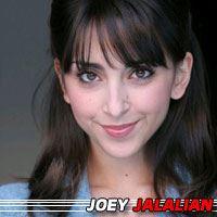 Joey Jalalian  Actrice
