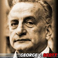 George C. Scott  Acteur