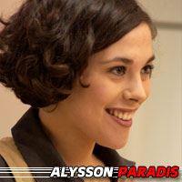 Alysson Paradis  Actrice