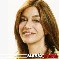 María Casal  Actrice