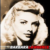 Barbara Lawrence  Actrice