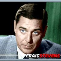Craig Stevens  Acteur