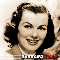 Barbara Halle  Actrice