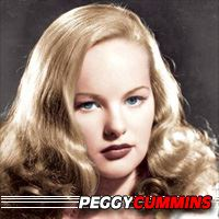 Peggy Cummins  Actrice