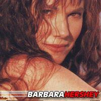 Barbara Hershey  Actrice