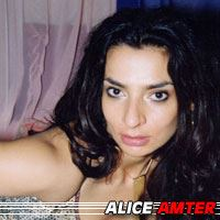 Alice Amter  Actrice