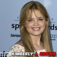 Kimberly J. Brown  Auteure