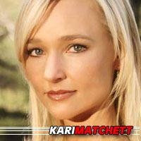 Kari Matchett  Actrice