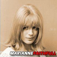 Marianne Faithfull  Actrice