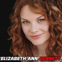 Elizabeth Ann Bennett  Actrice