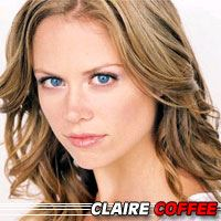 Claire Coffee  Actrice