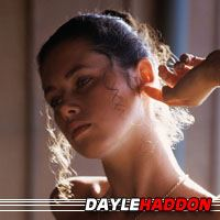 Dayle Haddon  Actrice