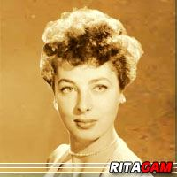 Rita Gam  Actrice
