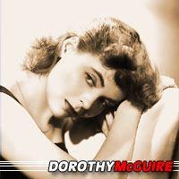 Dorothy McGuire  Actrice