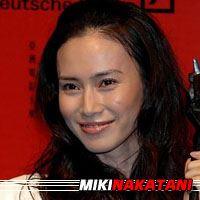 Miki Nakatani  Actrice