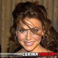 Cerina Vincent  Actrice