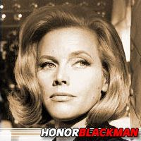 Honor Blackman  Actrice