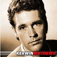 Kerwin Mathews  Acteur