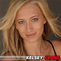 Kelsey Crane  Actrice