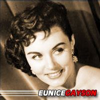 Eunice Gayson  Actrice