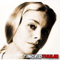 Ingrid Thulin  Scénariste, Actrice