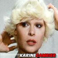 Karine Gambier  Actrice