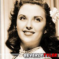 Beverly Tyler  Actrice