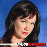 Paige Richards  Actrice